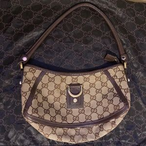 VINTAGE GUCCI HANDBAG - AUTHENTIC